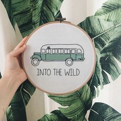 Into the wild embroidery