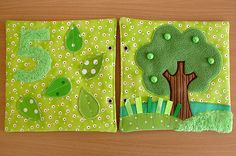Made by Irinelli: Развивающая книжка: все странички