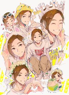 Jeonghan Fanart