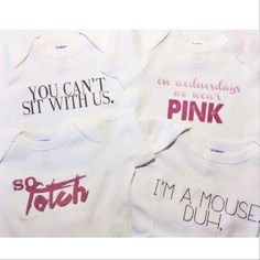Mean Girls Onesies? I die.