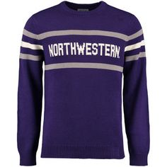 563458fbc Hillflint Northwestern Wildcats Purple Vintage Stadium Knit Sweater Pesto, Northwestern  University, Stay Warm,