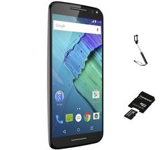 B&H Photo-Video has the Motorola Moto X Pure 4G LTE Unlocked 32GB Smartphone + BONUS Revo Wireless Bluetooth Selfie Stick and Transcend 32GB MicroSDHC Card w/ SD Adapter for a low $249.99 Free Shipping.
