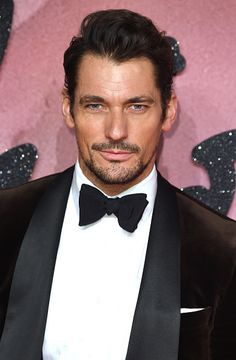 David Gandy attends The Fashion Awards 2016 on December 5 2016 in London United Kingdom