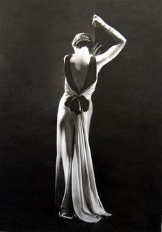 Toto Koopman, Evening Dress by Augustabernhard, Paris. Photograph taken by George Hoyningen-Huene, 1933
