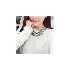 Chunky Statement Necklace (54 BRL) ❤ liked on Polyvore featuring jewelry, necklaces, accessories, imitation jewelry, chunky statement necklace, chain jewelry, artificial jewellery and statement necklace