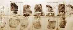 Impressões digitais retiradas de Che após sua morte