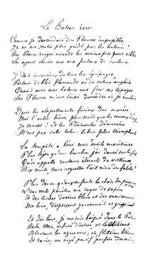 Le Bateau Ivre - Arthur Rimbaud