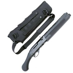 Black Aces Tactical has released the Shockwave Semi shotguns. These are Remington semi-automatic shotguns redesigned to look similar to the Remington 870 and Mossberg 590 Shockwave. These shotguns come either in SBS or non-NFA configurations. Airsoft Guns, Weapons Guns, Guns And Ammo, Tactical Shotgun, Tactical Gear, Combat Shotgun, Assault Weapon, Fire Powers, Home Defense