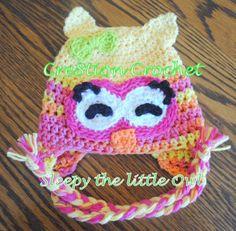 sleep the little owl ~ free crochet pattern ~ Isn't she adorable?