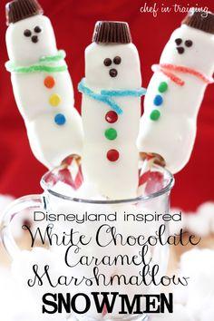 Disneyland Christmas Mashmellows