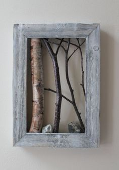 DIY Tree Branch Frame Ideas – My Home Decor Guide #WoodProjectsDiyTreeBranches