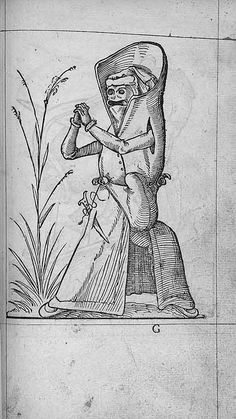 François Desprez, f. G1 [i.e. H1] Dessin 107 Les Songes drolatiques de Pantagruel A Paris : Par Richard Breton 1565 (29)
