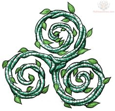 The triskelion (also referred to as triskele, triquetra or fylfot) Celtic symbol meaning holds two major components of symbolism: Action and Passive. The triskelion Celtic symbol meaning deals with competition and man's progress.|| La simbologia del triskell - L'antro della magia
