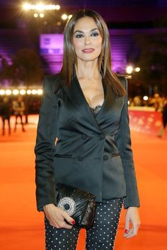 Maria Grazia, Leather Jacket, Stock Photos, Jackets, Actors, Female, Film, Pictures, Fashion