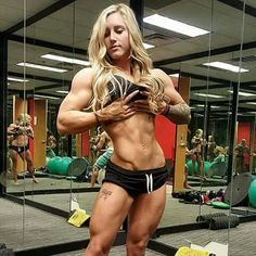 A picture of Sky Kinsman. This site is a community effort to recognize the hard work of female athletes, fitness models, and bodybuilders. Bodybuilder, Bicep Muscle, Muscular Women, Toning Workouts, Exercises, Strong Girls, Muscle Girls, Fit Chicks, Fitness Motivation