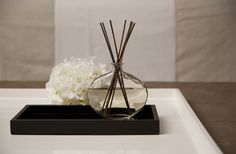 Formed out of clear glass and shaped like a simple water droplet, the Grace Diffuser Bottle will infuse your interior with the wonderfully relaxing fragrance of Scent One, while the elegant design will make a welcome addition to your home.