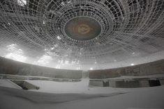 Forget Your Past: a blog by Timothy Allen http://humanplanet.com/timothyallen/2012/02/buzludzha-buzludja-bulgaria/