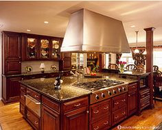 Would love to have this kitchen.