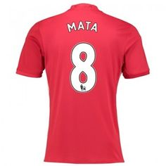 Manchester United Home Shirt 2016 17 with Mata 8 printing Sports Online Shopping Manchester United, Sport Online, Football Kits, Kids Boots, The Unit, Adidas, Mens Tops, Shirts, Online Shopping