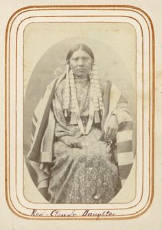 Daughter of Red Cloud - Oglala - circa 1877