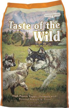 Because the best dog ever deserves the best food ever theres taste of the wild high prairie puppy formula grain free dry dog food forumfinder Images