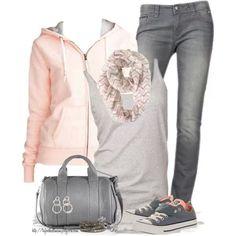 Hoodies & jeans