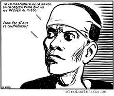 El viejo mundo se muere.  El nuevo tarda en aparecer.  Y en ese claroscuro surgen los monstruos.    Antonio Gramsci #miedo #PrisonPlanet