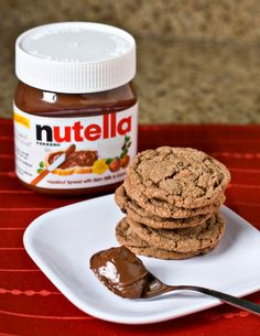 nutella cookie recipes