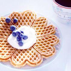 Waffles / Heart / Blueberry