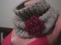 scarf fantazy yarn hot by YARNARTWORLD on Etsy, $45.00