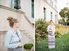 Ann-Marie Loves: maternity shoot | style me pretty.