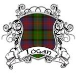 Logan Tartan Shield...I'm going to make it into a charm to attach to my bouquet.