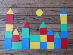 Formes géométriques Plus Plus Paul Klee, Fairy Tale Theme, Fairy Tales, Chateau Moyen Age, School Age Activities, Princess Crafts, Medieval Party, Math Patterns, Nursery Activities