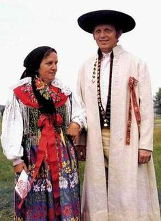 Traditional folk costumes from Chodsko (South-West Bohemia), Czechia