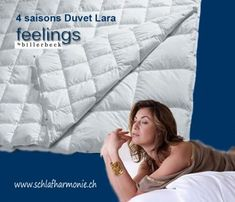 4-Saison Daunenduvet LARA XXX 4 jahreszeiten duvet Lara Feelings Heimtextilien Schlafzimmerausstattung ✔ Bettwaren für erholsamen Schlaf - Bettwaren kaufen Duvet, Feelings, Bed, Sleep Better, Comforters Bed, Homes, Action, Bedroom, Down Comforter