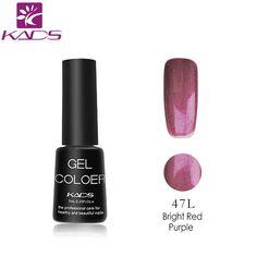 KADS UV Gel Nail Polish Gel LED UV Soak off Gel Lacquer 7ml Long Lasting Nail Gel polish