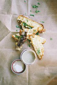 Julia Child's Chicken Liver Mousse with Gruyere Crostini
