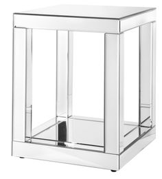 Mirrored accent table - Target via @Matchbook Magazine