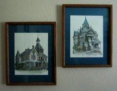 Wall Decor Pictures, Victorian Homes, Framed Art, Fine Art, Art Prints, Artist, Painting, Art Impressions