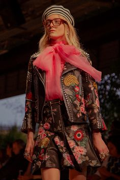 Русская: Gucci Spring - Summer 2016 photographed by...