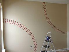 Make the wall a giant baseball