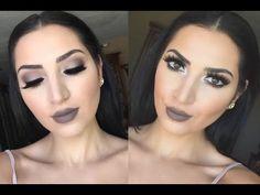 Dramatic Makeup Look: Kat Von D Eye Palette & MAC Stone Lipstick