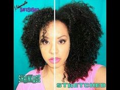 How to video on stretching natural hair    http://m.youtube.com/watch?feature=share&=XssJFszMgFs