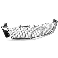 Spec-D Tuning HG-ECLD02C-RS Cadillac Escalade Ext Esv Front Mesh Grille Chrome. For product info go to:  https://www.caraccessoriesonlinemarket.com/spec-d-tuning-hg-ecld02c-rs-cadillac-escalade-ext-esv-front-mesh-grille-chrome/