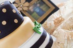 Beautiful cake-Kate Spade Inspired