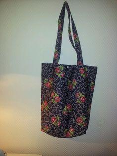 Kleine Einkaufstasche nach eigenem Schnitt :-)