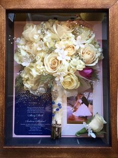 Bouquet preservation, wedding bouquet preservation, wedding ideas, wedding gift ideas, wedding memories