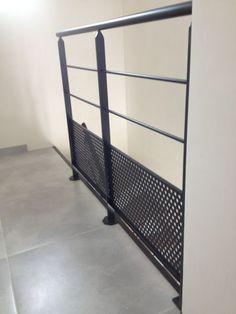 escalier metallique nantes loire atlantique escalier metal bois acier sur mesure fer 44 vendee 85 Rambarde - Garde-corps