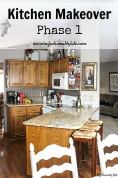 Kitchen Makeover Pha