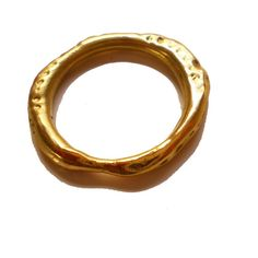Catherine Marche Organic 18ct gold ring. £785